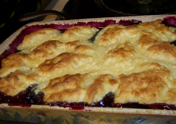 Mimi's Maine Blueberry Cobbler