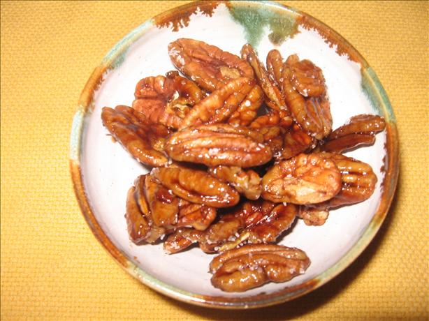Maple Balsamic Pecans Les Fougeres