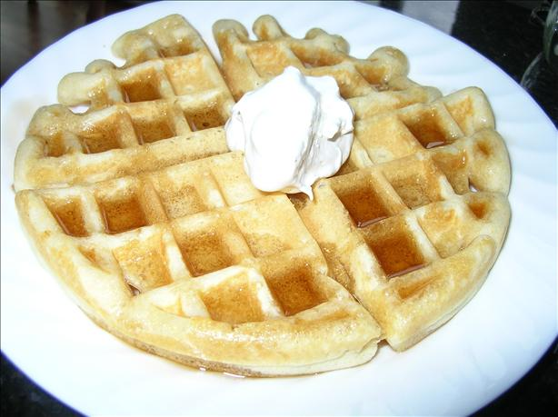 Cornmeal Blender Waffles