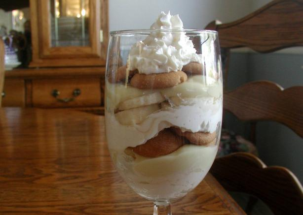 Quick and Tasty Banana Pudding for One