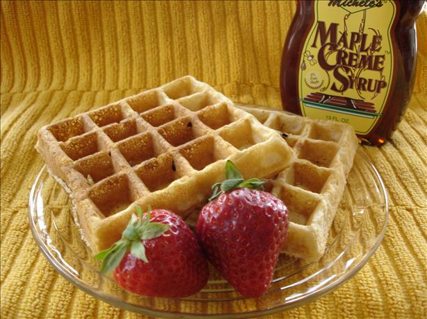 Basic Batter Waffles