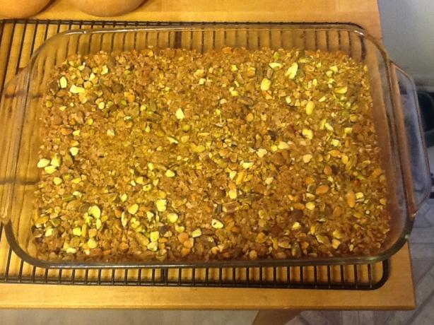 Apple & Oat Crumb Bars