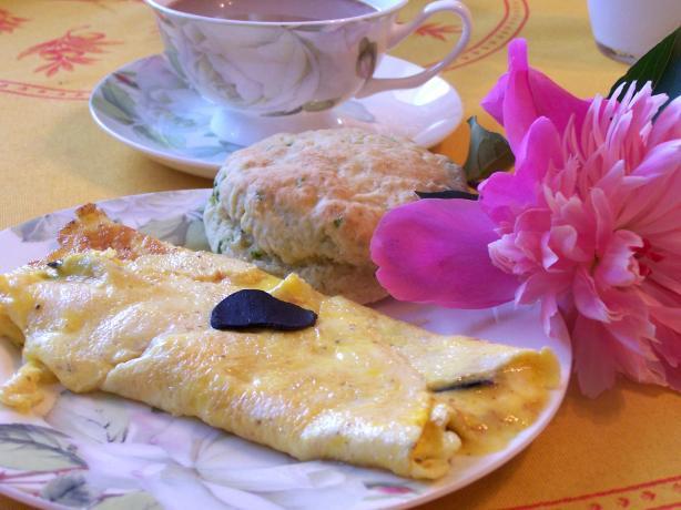 Truffle Omelette - Omelette Aux Truffes