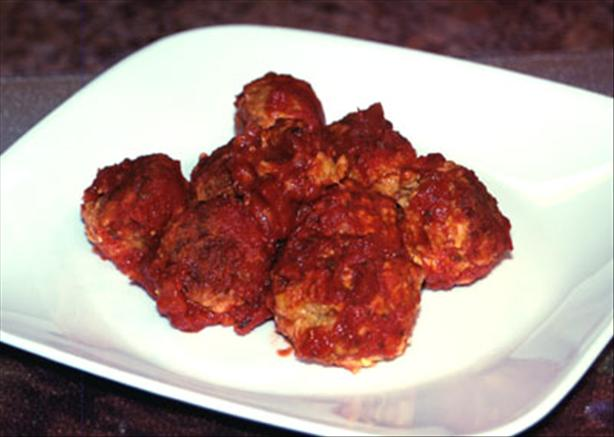 Baked Kofta Balls in Tomato Sauce
