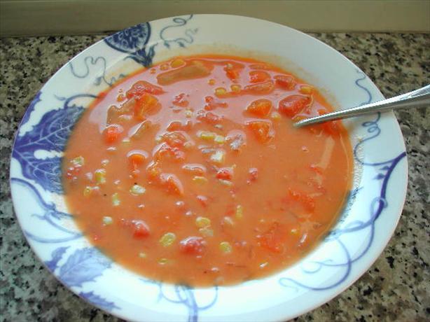 Moosewood's Crema De Elote (Creamy Corn Soup)