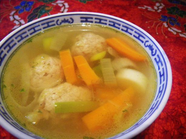 Turkey Meatball and Escarole Soup