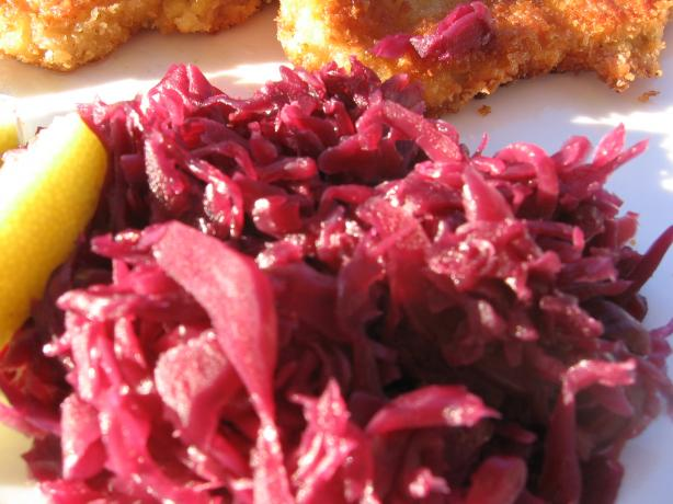 Red Cabbage Sweet & Sour