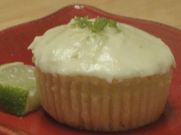 Coconut Cupcakes With Lime Buttercream Frosting