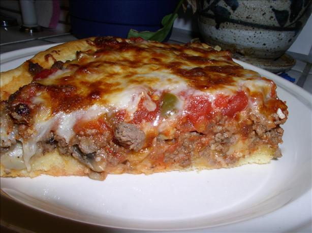 Vavavoom Biscuit Crust Beef & Mushroom Pizza