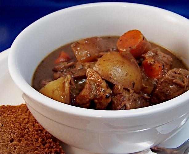 Cider Beef Stew for Two