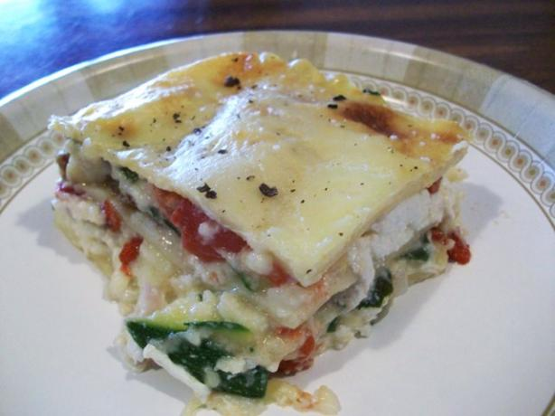 Vegetable Lasagna With a Thick Bechamel Sauce