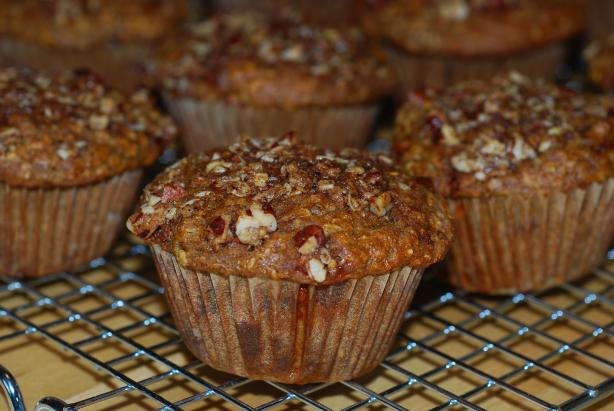 Whole Grain Pumpkin Spice Muffins