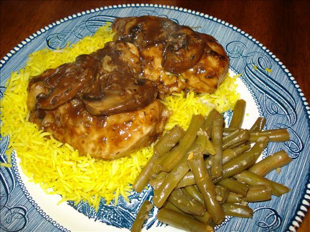 Balsamic Mushroom Chicken