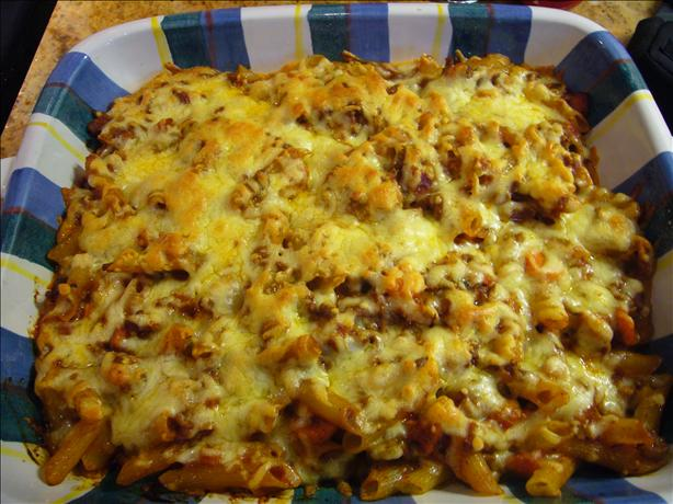 Beef and Pasta Bake - the Best!