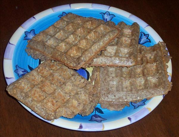 Overnight Cinnamon Waffles