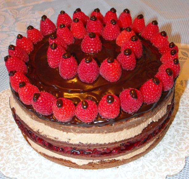 Chocolate Raspberry Torte