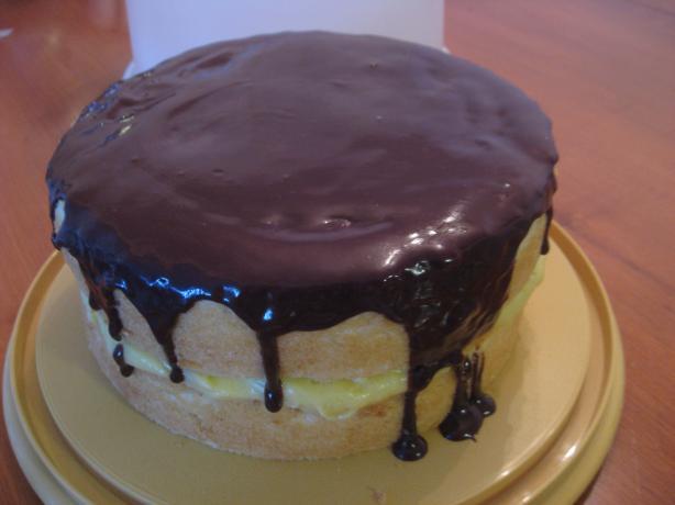 Boston Cream (Creme) Pie