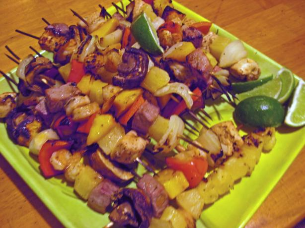 Devilishly Divine Tropical Kabobs With a Devious Twist
