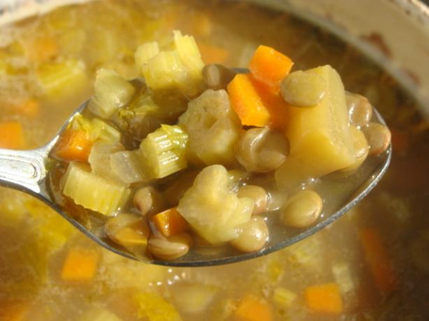 Curried Lentil and Vegetable Soup