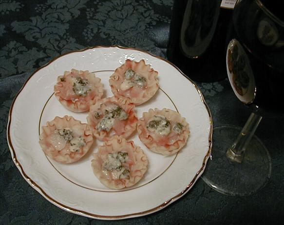 Pear and Blue Cheese Tartlets