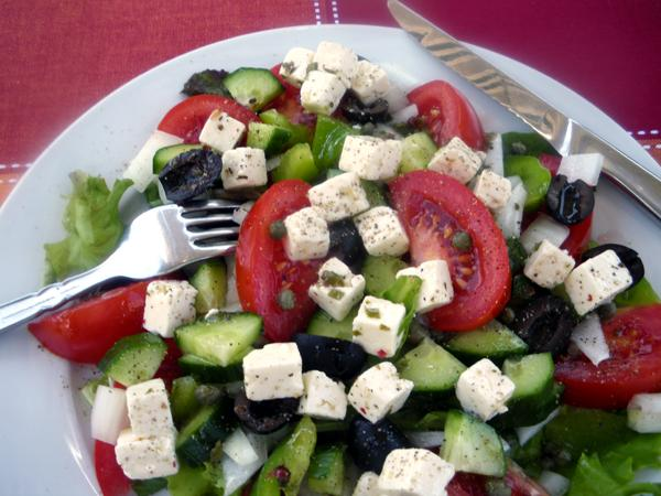 "Xoriatiki (Greek ""Village"" Salad)"