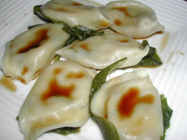 Pork Dumplings (gyoza)