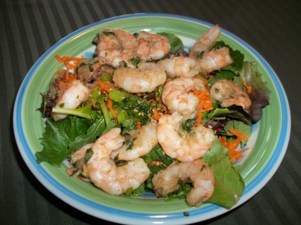 Oriental Shrimp Salad (Padma Lakshmi)