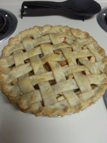 Lattice-crust Apple Pie