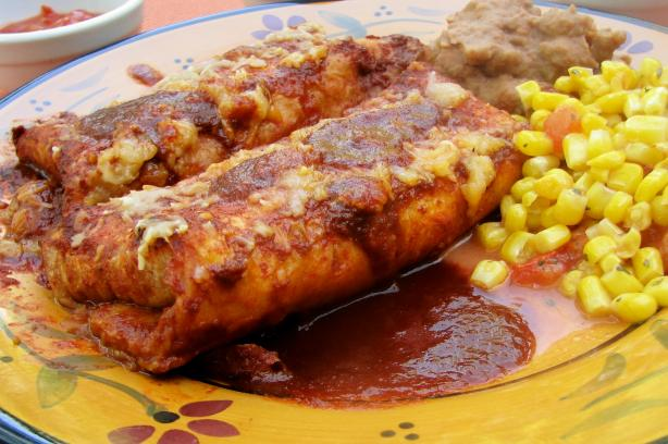 Super Easy Cheesy Enchiladas