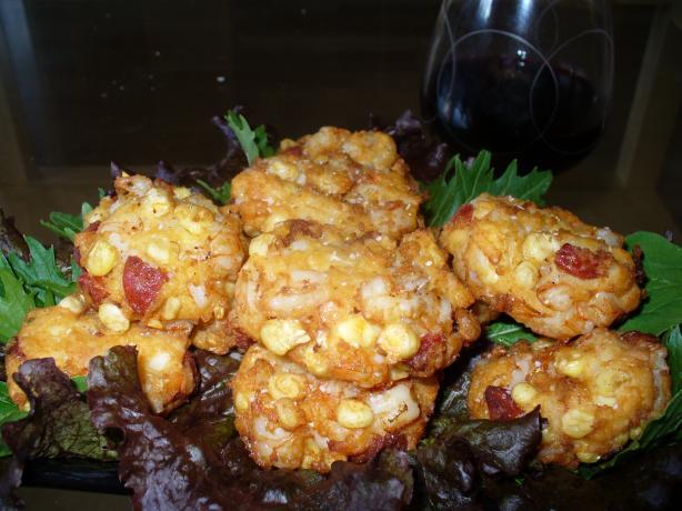 Prawn and Chorizo Cakes With Tomato Salsa