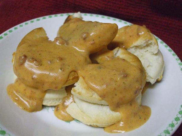 Chorizo Gravy or Sauce