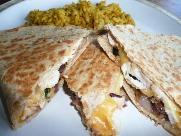 Taco Bell Chicken Quesadillas (Light Version)