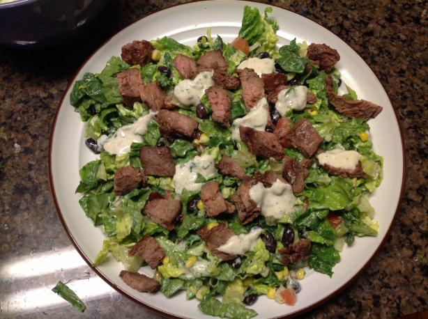 Healthy Lite Steak Salad