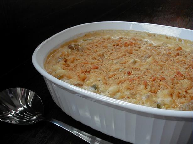 Emeril's Sausage Macaroni and Cheese
