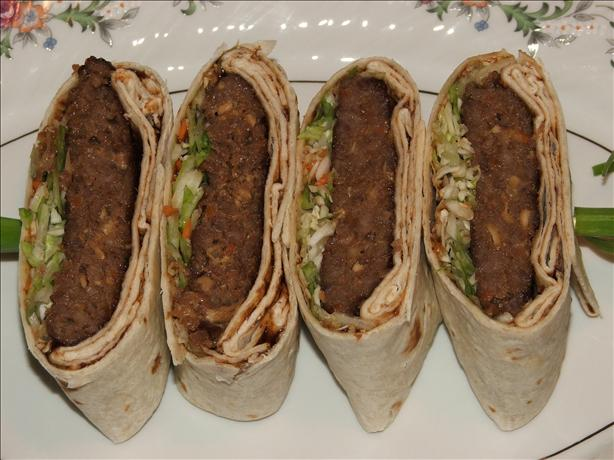 Kelly's Moo Shu Pork (Or Beef) Pockets