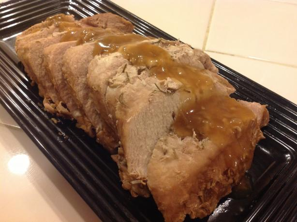 Easy 3 Ingredient Pork Loin Roast