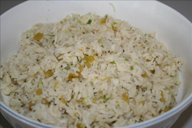 Green Chili Rice
