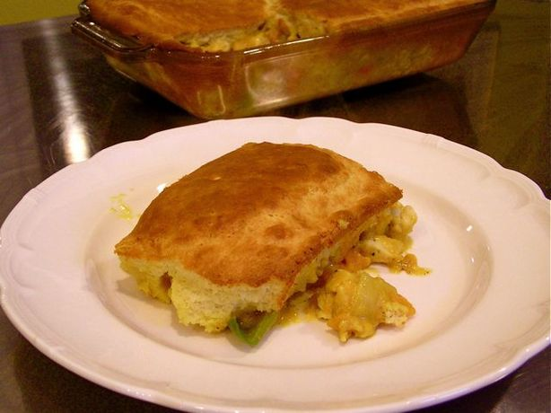 Curry Comfort Chicken Pot Pie