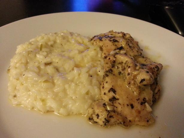 Basic Risotto (Pressure Cooker)