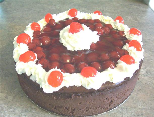 The Ultimate Black Forest Cheesecake