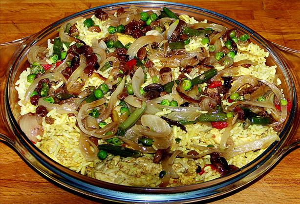 Sri Lankan Chicken Biriyani