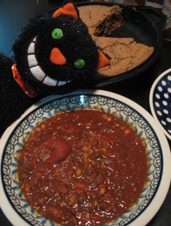 Andrew's Protein-Packed Vegan Chili