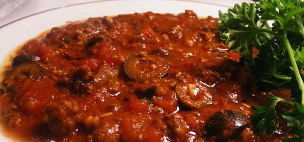 Mama Mia Crock Pot Spaghetti Sauce