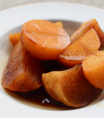Turnips/Rutabaga Simmered in Date Syrup (Maye' Al-Shalgham)
