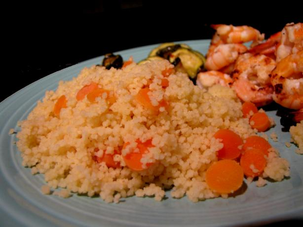 Lightly Spiced Vegetable Couscous