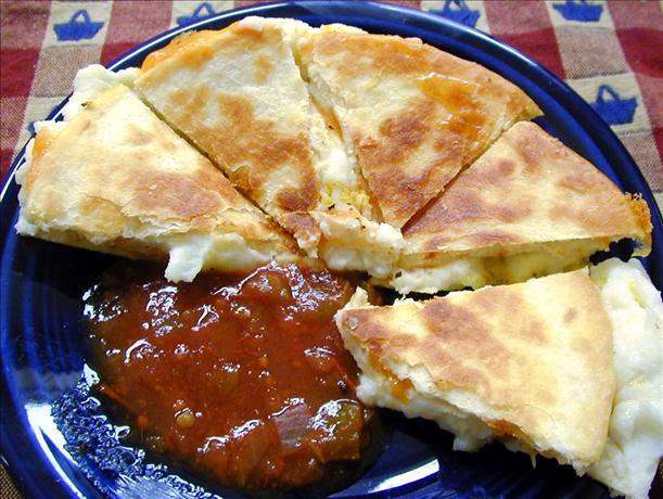 Potato & Cheddar Quesadilla