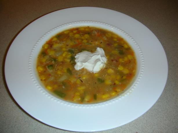 Corn and Potato Chowder for Masako