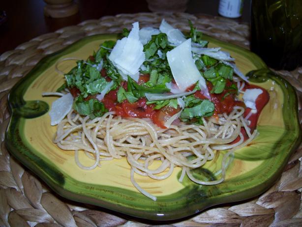 Audrey Hepburn's Favorite Spaghetti Al Pomodoro