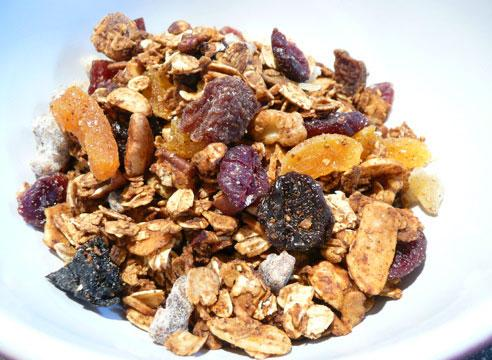 Lower Fat Cinnamon Granola