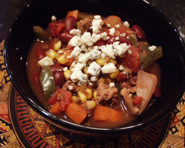 Yummy Veggie (Or Turkey) Chili